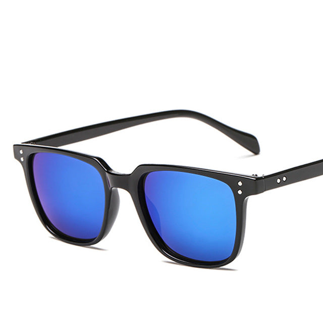Retro Square Polarized Sunglasses