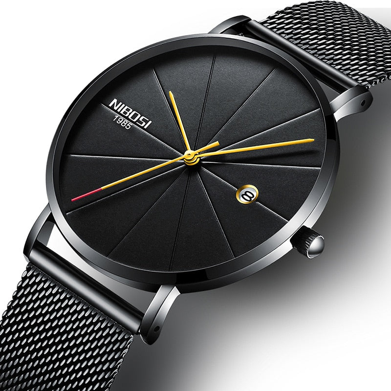 Celeste Premium Ultra Thin Stainless Steel Watch