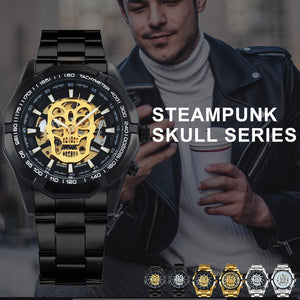 Luxury Skeleton SKULL Mechanical Watch