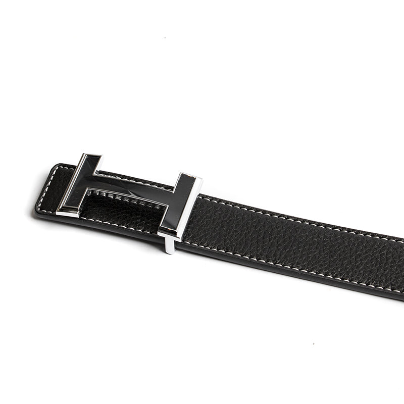 Grande H Leather Belt