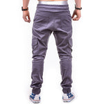 Casual Harem Multi-Pocket Joggers - 4 Colors
