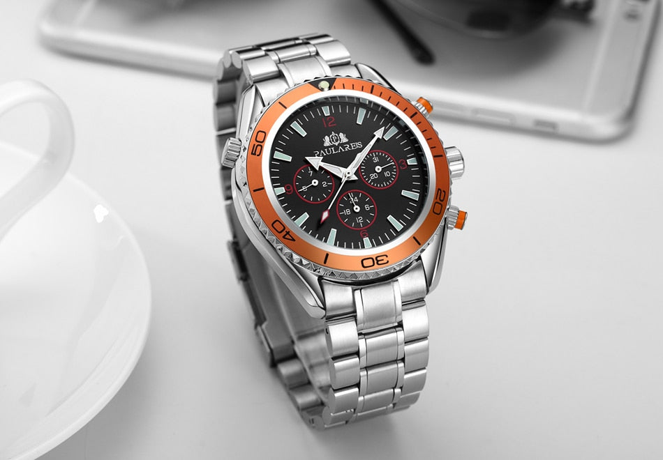 Luxury Automatic Self Wind Watch