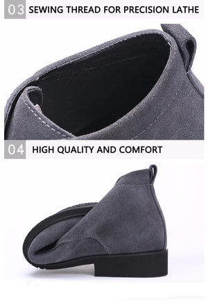 Premium Genuine Leather Chelsea Ankle Boots - 3 Colors