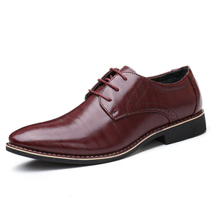 Luxury Handmade Leather Oxford Shoes