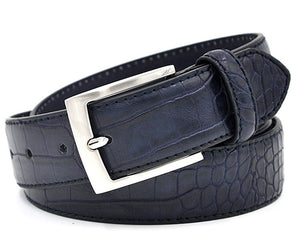 Luxury Alligator Pattern Leather Belt