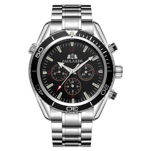 Luxury Automatic Bond Chrono Watch