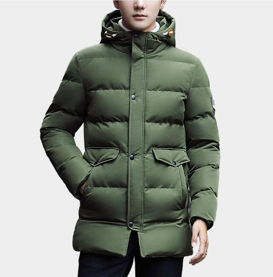Luxury Hooded Long Winter Parka