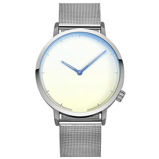 LUCIDO Classic Stainless Steel Wrist Watch