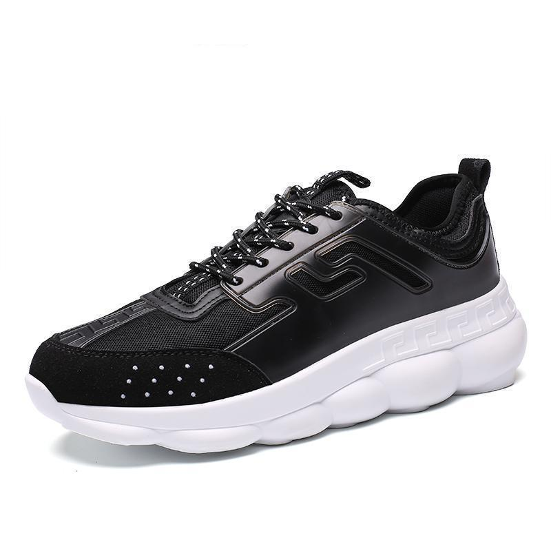 VELENO Leather Sneakers - Black