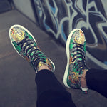 La Tigre Printed Canvas Sneakers