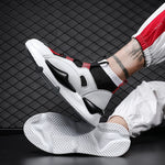 TOXIQUE X 'VIBE' High Top Sneakers - SPL White