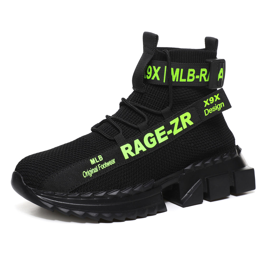 RAGE ZR 'Urban Legend' X9X Sneakers - NEON