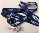NWAL Whistle with Lanyard