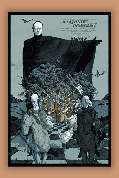 JESSICA SEAMANS, THE SEVENTH SEAL (VARIANT)