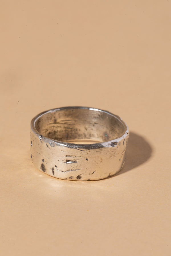 WEATHERED STERLING SILVER