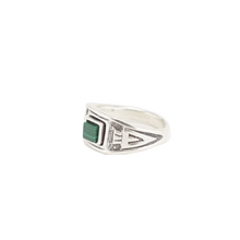 Load image into Gallery viewer, CHEVRON // MALACHITE