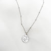 Stainless Steel Necklace, Switzerland 10 rappen 1973 coin