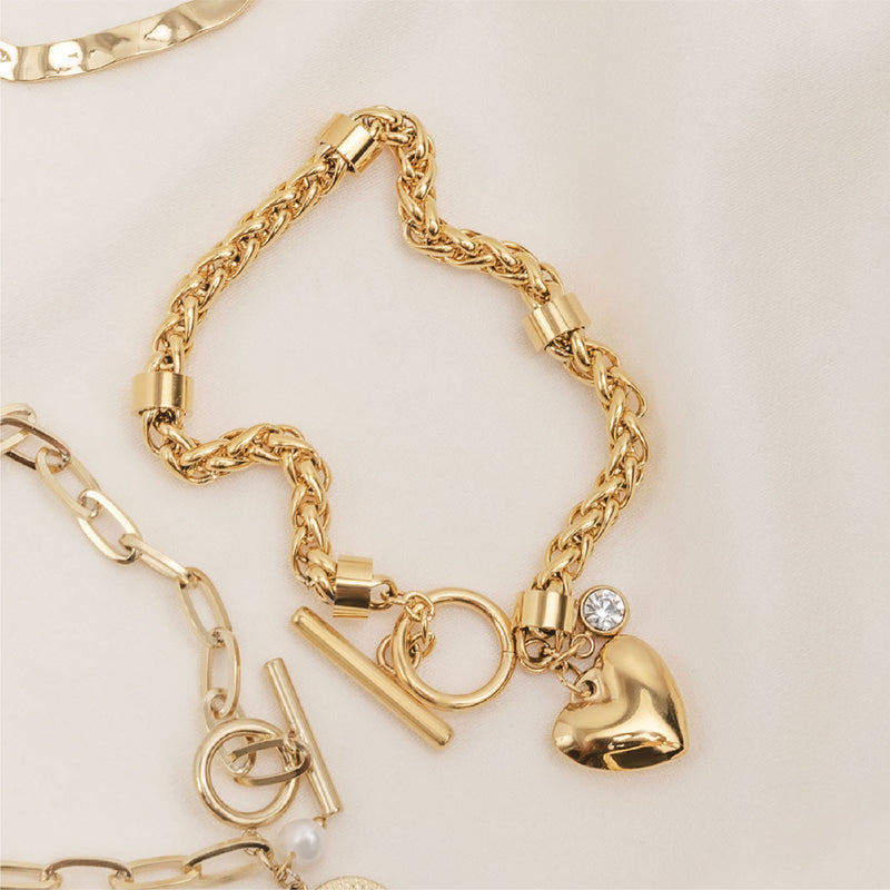 Luxe and Love Chain - Gold Stainless Steel