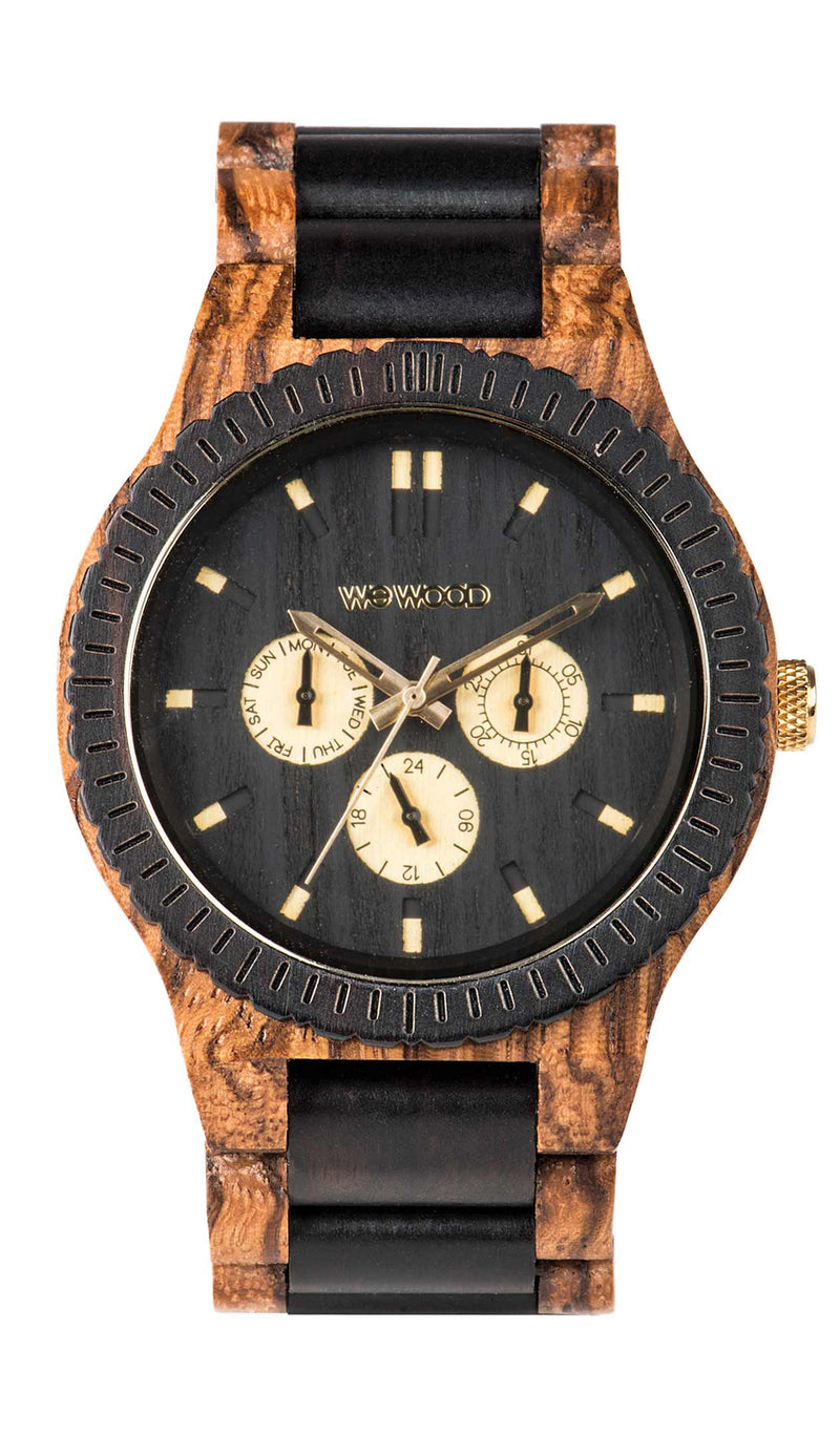 Kappa Zebrano Wood WeWood Watch