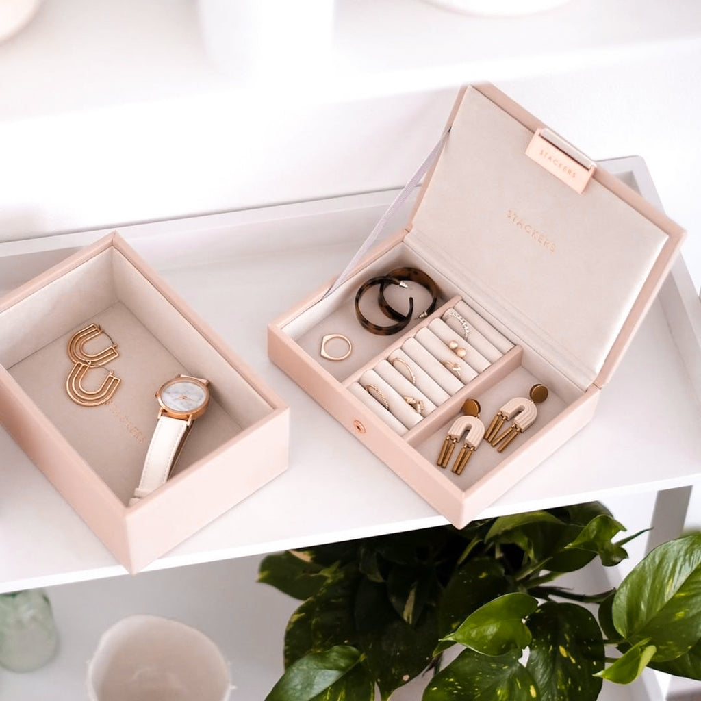 Stackers Mini Set 2 Jewellery Box - Blush