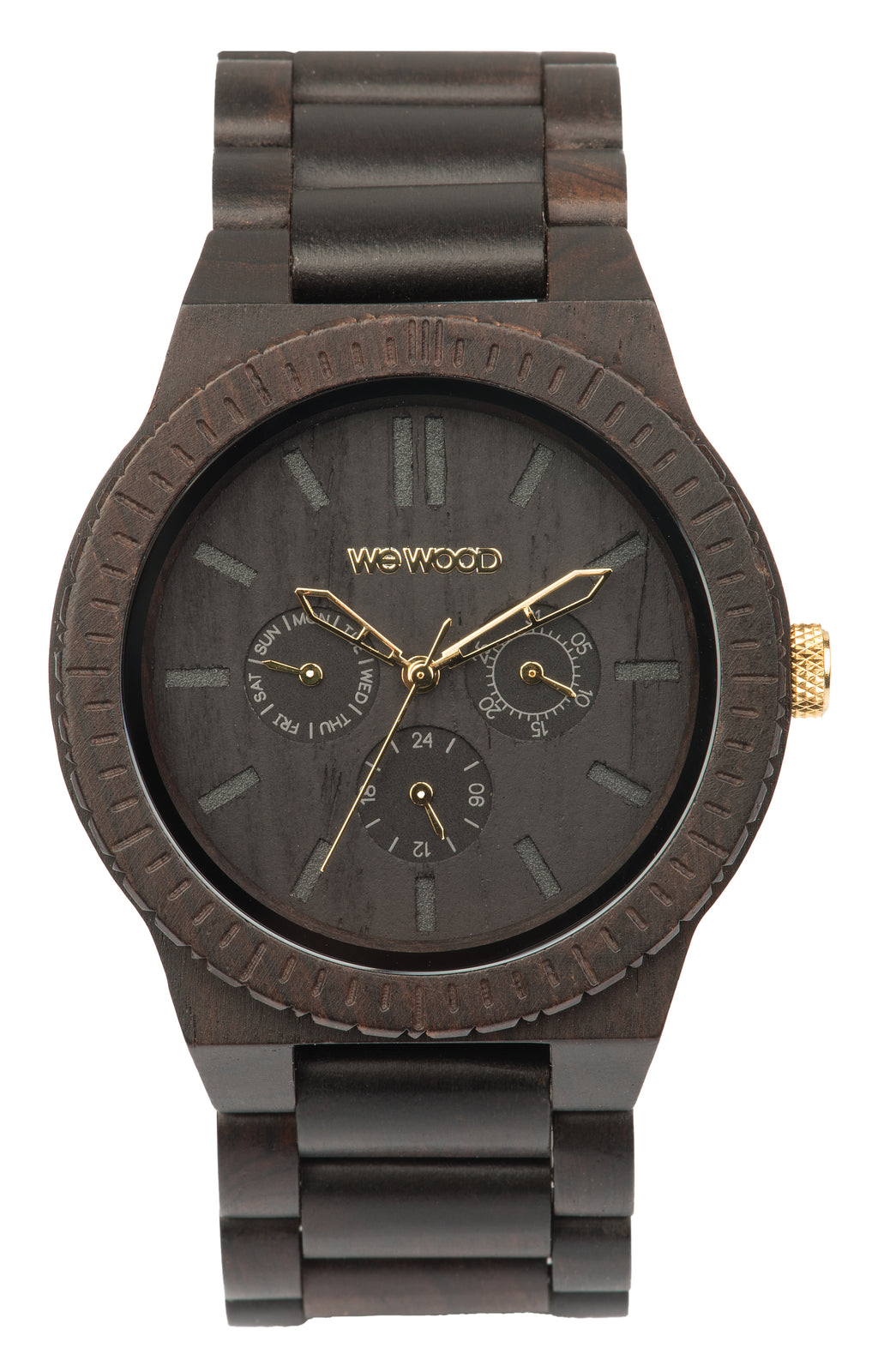 Kappa Wood WeWood Watch - Black/Gold