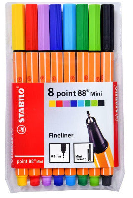 STABILO Point 88 Mini Pack of 8