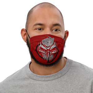 Face mask Covid 20 Alien skull
