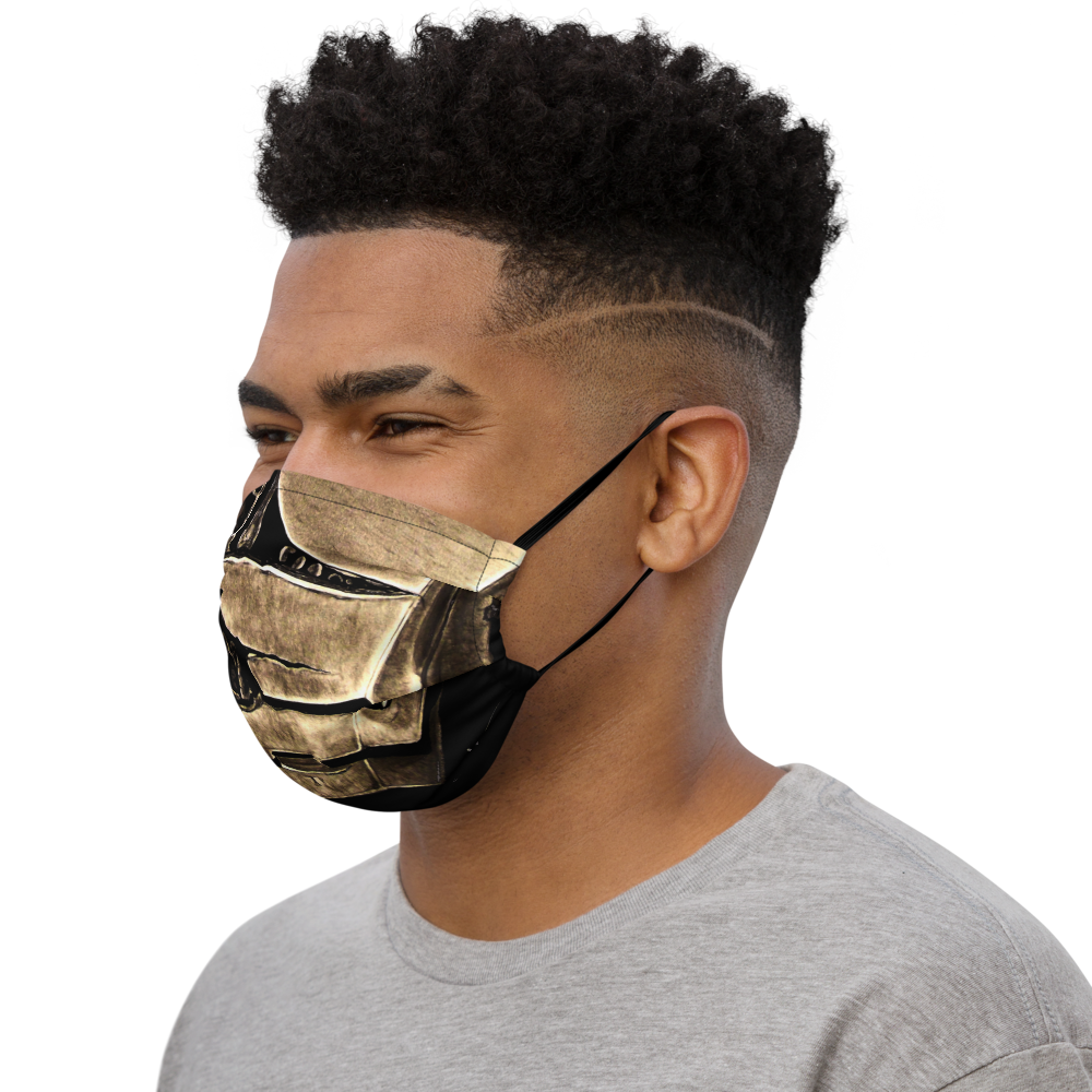 Face mask Covid 20 Iron-skull