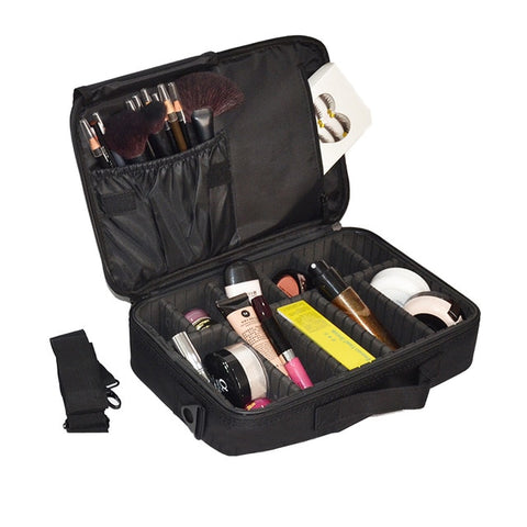 Makeup Bag Organizer Professional Makeup Artist Box Larger Bags Cute Korea Suitcase Makeup Suitcase Makeup Brushes Tools Case