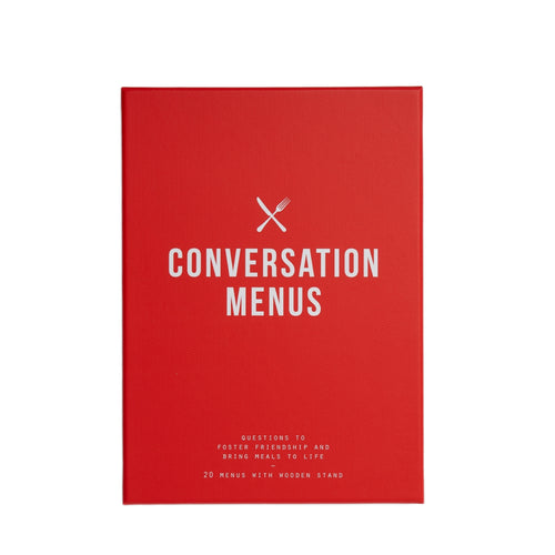 Conversation Menus Card Set
