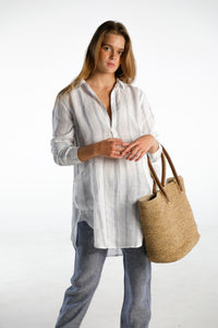 Teton Striped Blouse