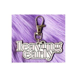 Leaving Early Keychain