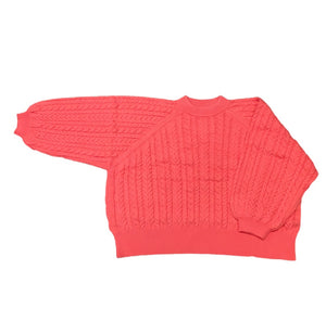 Cable Knit Crew Neck