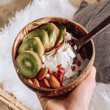 Load image into Gallery viewer, Cosmos Design | Coconut Bowl with Spoon