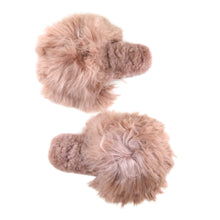 Load image into Gallery viewer, Suri Alpaca Slipper Slide Blush
