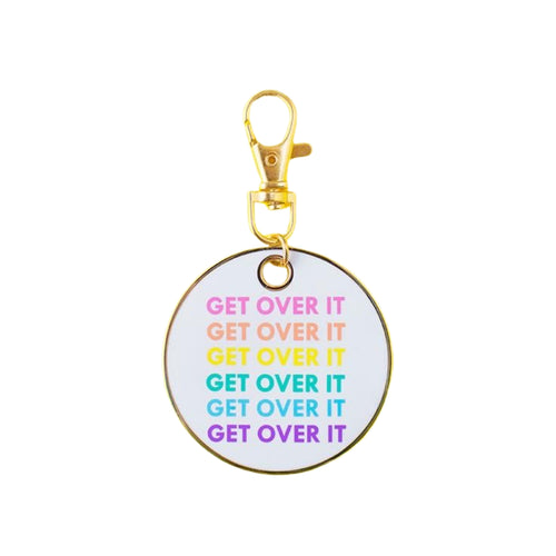 Get Over It Keychain