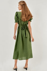 "Maxi Dress ""Brigette"" Green"