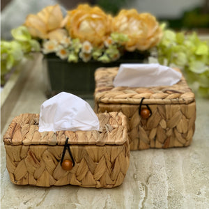 Water Hyacinth Tissue Box