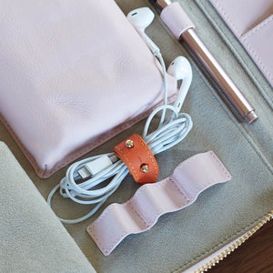 Luxury Leather Cable Tidy