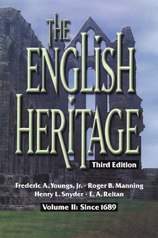 002: The English Heritage Third Edition Volume Ii: Since 1689