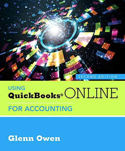 Using Quickbooks Online For Accounting (With Online, 6 Month Printed Access Card)
