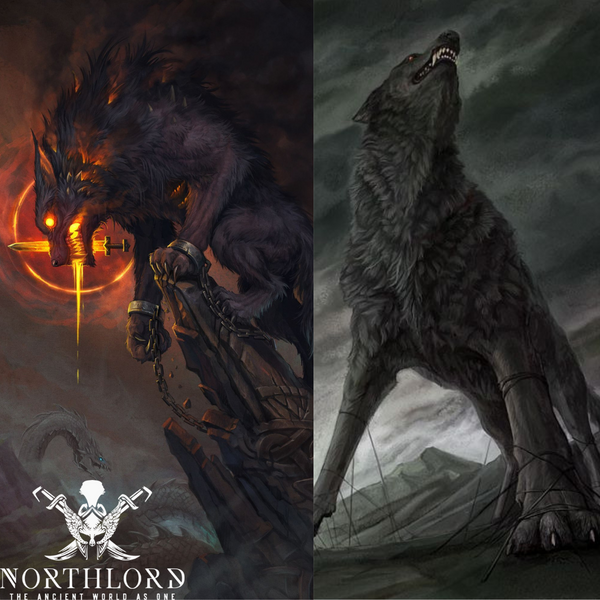 The Wolf Fenrir - Norse Mythology – Northlord