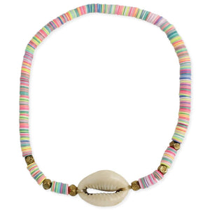 Pastel Cowrie Shell Anklet