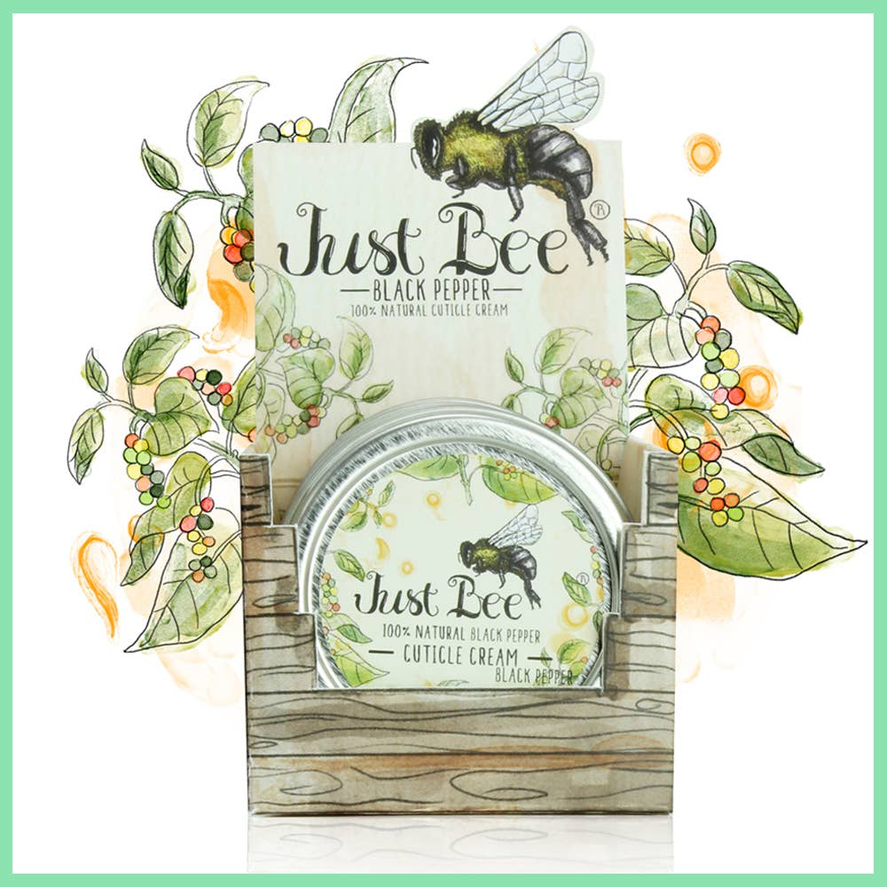 Just Bee Black Pepper Cuticle Cream