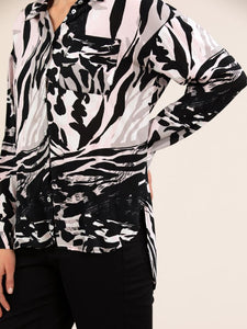 WAVES PRINT SHIRT
