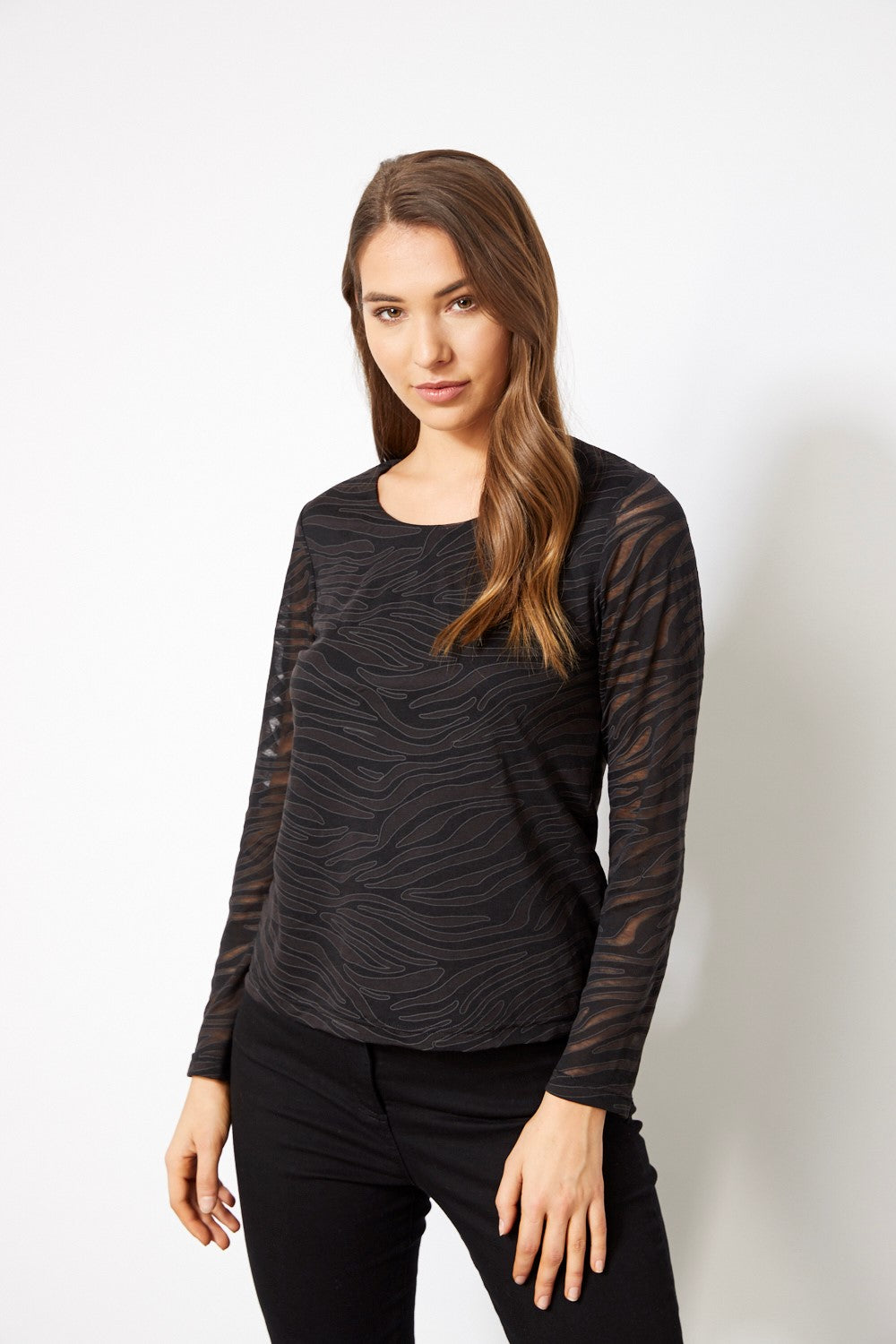L/S LINED TOP