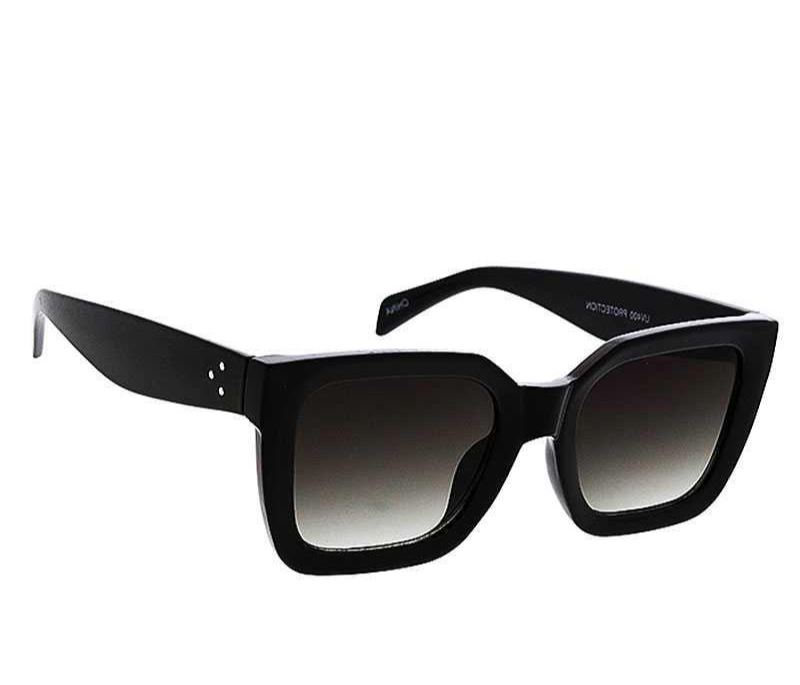 Black Square Sunglasses