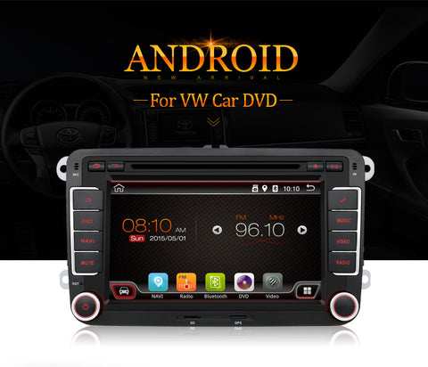 Volkswagen Skoda Seat Android HD Touch Screen Car Stereo GPS DVD Player Radio SD - Lifafa Denmark