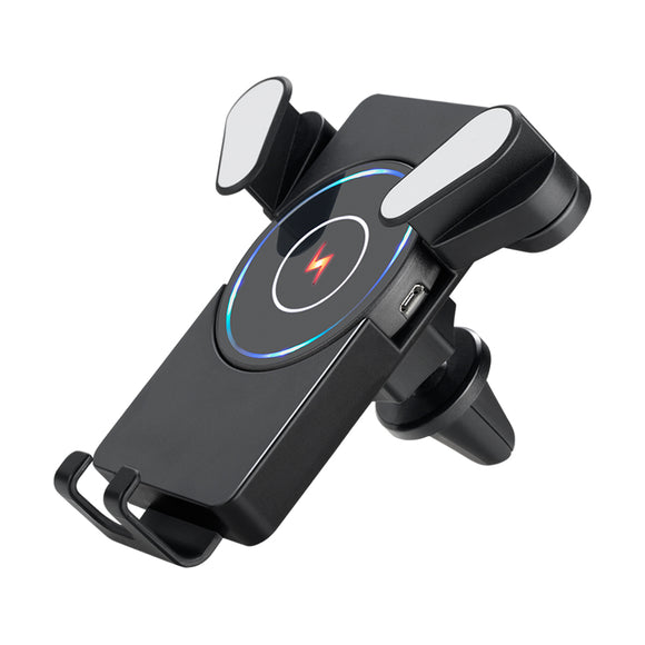 Wireless Automatic Clamping Fast Charging Car Charger Mount Holder Stand New - Lifafa Denmark