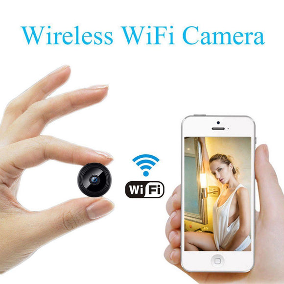 Mini Camera Wireless Wifi IP Home Security HD 1080P DVR Night Vision - Lifafa Denmark